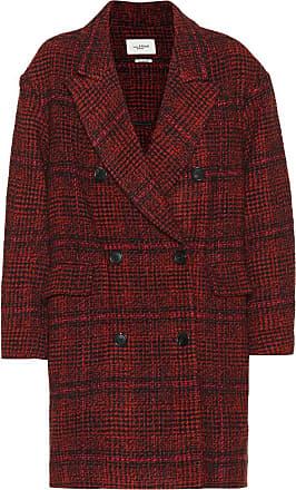 Isabel Marant Ebra plaid wool-blend coat