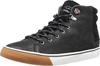UGG Mens Hoyt Fashion Sneaker, Black, 7.5 M US