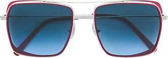Oxydo Óculos de sol quadrado - Vermelho