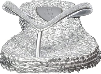 Ilse Jacobsen Women CHEERFUL01 Flip Flop Silver Size: 6 UK