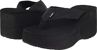 Scott Hawaii Wahine (Black) Womens Sandals