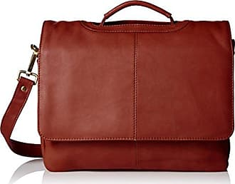 Visconti Leather Business Case Bag/Briefcase/Handbag Medium, Brown
