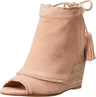 Chinese Laundry Womens Latakia Wedge Sandal, Sand Suede, 6 M US