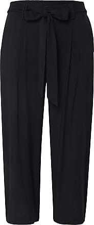 Only Onlnova Crop Palazzo Trousers Solid 9 WVN - Black - 14