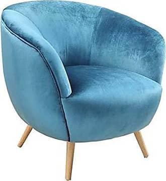 ACME ACME Aisling Teal Velvet Accent Chair