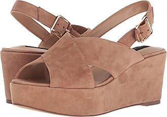 5618d3ec64c Steven by Steve Madden Womens SOL Heeled Sandal tan Suede 10 M US