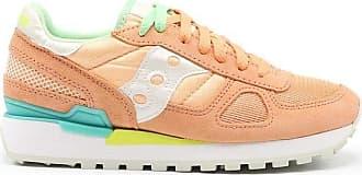 Saucony Fashion Woman 1108746 Orange Suede Sneakers | Season Permanent