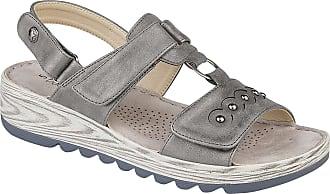 Boulevard Womens/Ladies Metallic Halter Back Touch Fastening Sandals (6 UK) (Metallic Silver)