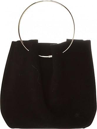 The Row Suede Handbag Womens Black