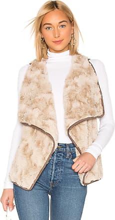 BB Dakota JACK by BB Dakota Most Valuable Layer Faux Fur Vest in Tan