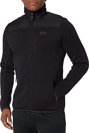 Helly Hansen Mens Varde Fleece Jacket Track, Black (Negro 990), Medium
