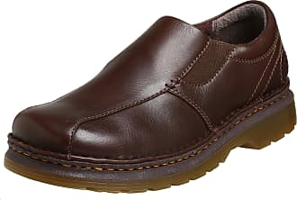 Dr. Martens Mens Tevin Slip On Shoe, 12 UK, Dark Brown Overdrive