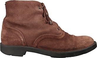 0d920853c33f Bottega Veneta Mens Brown Suede Shearling Lined Ankle Boots