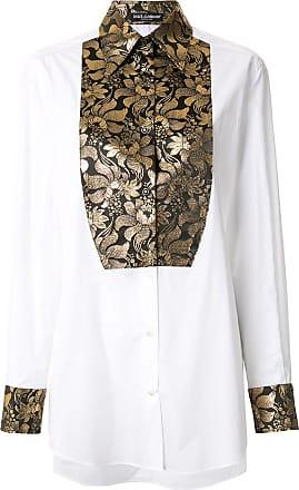 Dolce & Gabbana Camisa brocada - Branco