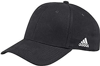 pretty nice 07a48 67979 adidas Mens Structured Flex Cap Hat, Black, L XL