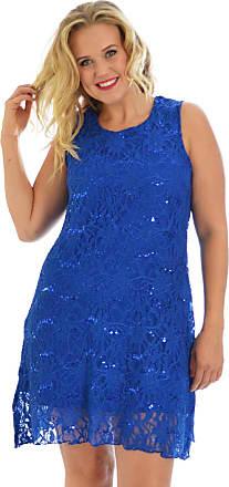 Nouvelle Collection Flapper Lace Dress Royal Blue 24-26