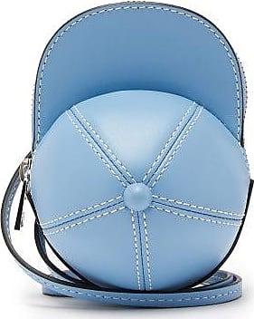 J.W.Anderson Nano Cap Leather Bag - Womens - Light Blue
