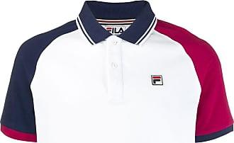 Fila contrast sleeve polo shirt - White