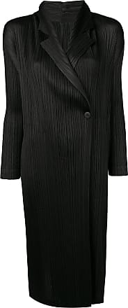 Issey Miyake black lightweight coat