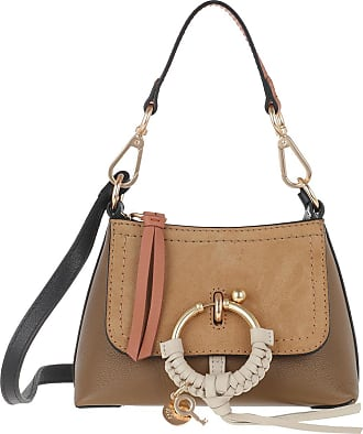 See By Chloé Cross Body Bags - Joan Mini Leather Crossbody Bag Coconut Brown - brown - Cross Body Bags for ladies