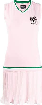 Plein Sport pleated tennis dress - Pink