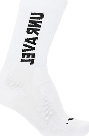 Unravel Socks With Embroidered Logo Mens White