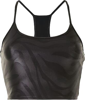 Koral Top sportivo Leah Infinity - Di colore nero