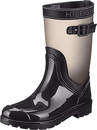 Tommy Jeans Essential Leather Biker Boot Botas Estilo Motero para Mujer