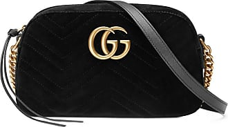 Gucci Marmont - GG Marmont velvet small shoulder bag