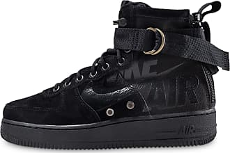 best website 6f703 ed817 Nike Homme Sf Air Force 1 Mid Noir Baskets