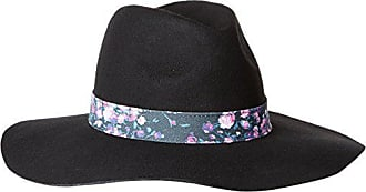 Keds Womens Felt Floppy Hat, Black, One Size