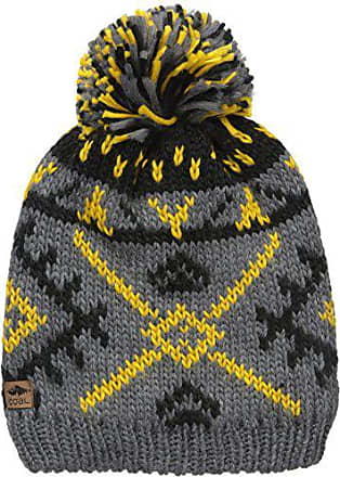 d4368671345484 Coal Mens The Purcell Fully Fleece Lined Beanie Hat Pom, Charcoal, One Size