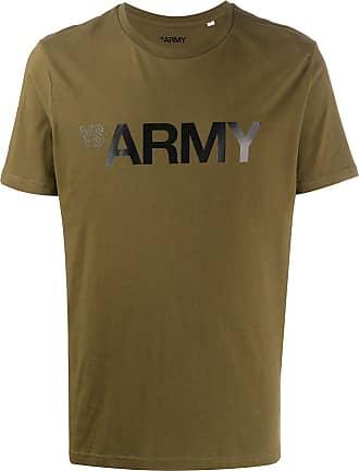 Yves Salomon Army logo T-shirt - Green