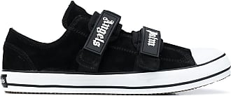 Palm Angels Low black suede sneakers
