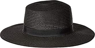 Billabong Womens Aboat Time Straw Hat Black One Size