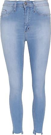 Aéropostale Calça Jeans Aeropostale Skinny Cropped Estonada Azul