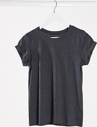 Brave Soul Eleanor - T-Shirt in Anthrazit-Schwarz