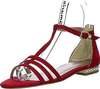 Tamaris Damen Sandalen Blau (Metallic), Schuhgröße:EUR 38