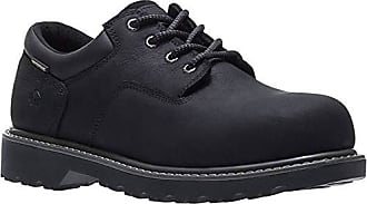 Wolverine Mens Floorhand Oxford Steel Toe Construction Shoe, Black, 11.5 W US