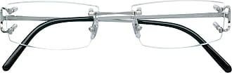 Cartier Armação de óculos quadrada - Metálico