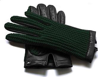 Napo Gloves napoCROCHET (black/green)