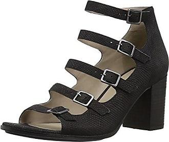 785dd462768a Naturalizer Womens Imogene Gladiator Sandal Black 8.5 W US