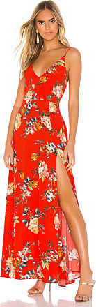 Yumi Kim Jasmine Maxi in Red