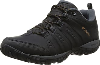 Columbia Mens Woodburn II Walking Shoe, Black (Black, Caramel 010), 7.5 UK 41 1/2 EU