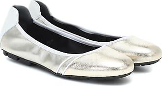 Hogan H511 leather ballet flats
