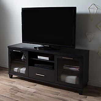 South Shore Furniture 9073662 Adrian Stand for Tvs Up to 60,Black Oak