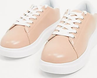 Truffle wide fit trainers in pink