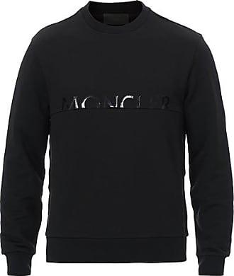 Moncler Logo Sweatshirt Black