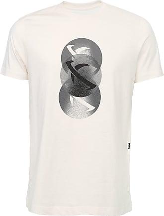 ...Lost Camiseta...Lost Halftone Off-White