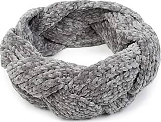 McBurn Stirnband grau meliert Strick Ohrenband Kopfband Ohrenschutz Band Wolle